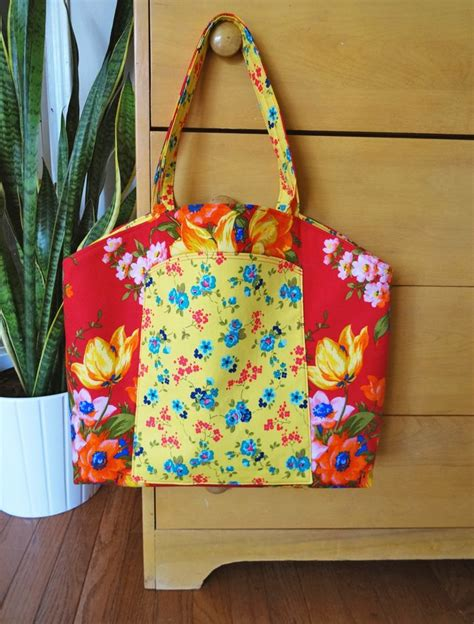 tote bag pattern with dividers 53 best images about tassen allerlei on pinterest bags