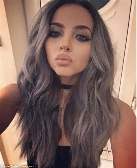 hair color for graying hispanic women little mix s jade thirlwall shows off dramatic makeover in