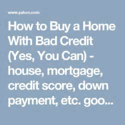 how to buy a home with bad credit 25 best ideas about new house card on