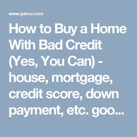 house mortgage with bad credit 25 best ideas about new house card on pinterest first