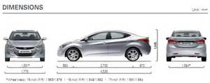 Dimensions Of Hyundai Elantra 301 Moved Permanently