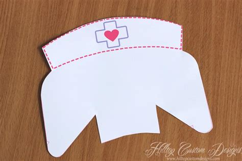 image gallery nurse hat template