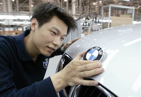 bmw in china bmw china car sales surged 41 in june
