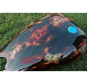 Custom Motorcycle Paint Jobs Painted Flames By Bad Ass