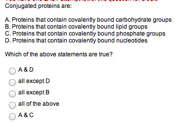 a protein that is bound to a carbohydrate is called a conjugated proteins are proteins that contain cov