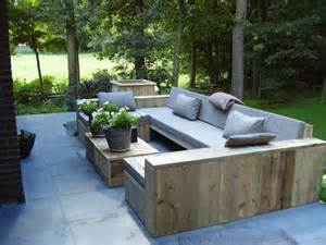 chic patio furniture chic outdoor sofa wood 1420 best images about outdoor