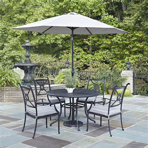 Outdoor Patio Dining Sets With Umbrella 31 Wonderful Patio Dining Sets With Umbrella Pixelmari