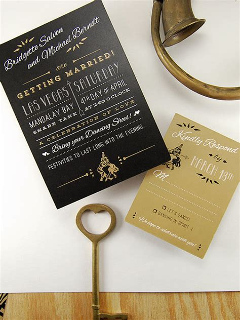 gatsby wedding invites the great gatsby wedding inspiration
