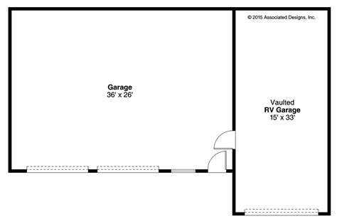 garage floor plans free southwest house plans rv garage 20 169 associated designs