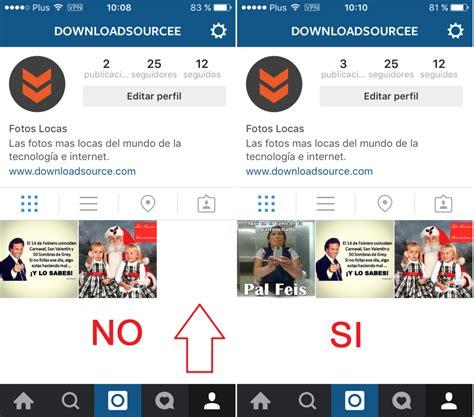 imagenes para perfil instagram como crear mosaico a partir de una foto en tu perfil de