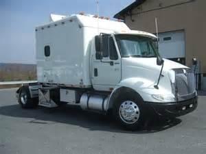 used single axle sleepers semi trucks for sale