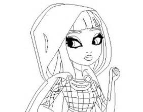 Ever After High Cerise Hood Coloring Pages Ilustracion Pintar  sketch template