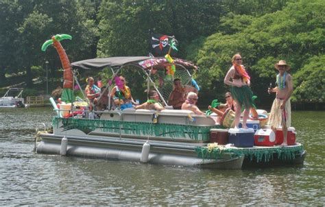 party themes on a boat how to have a pontoon boat party lifeform led