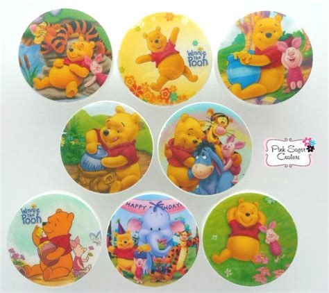 winnie the pooh knobs drawer pulls m2m bedding nursery