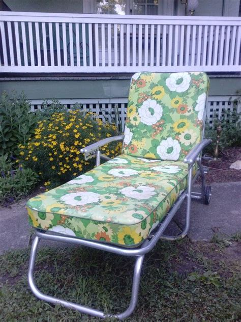Outdoor Cushions Vintage 1000 Images About Vintage Lawn Chairs On