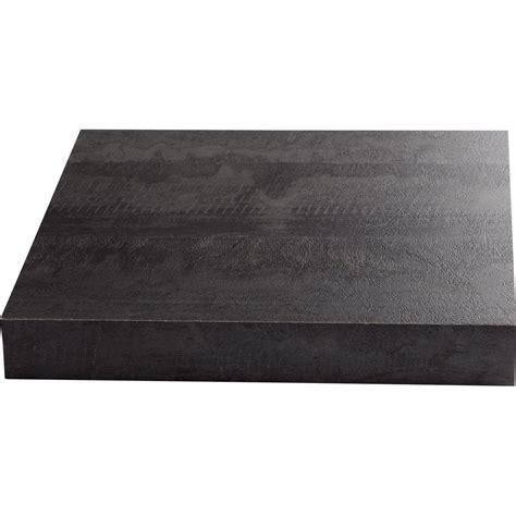 Profondeur Plan De Travail 4324 by Plan De Travail Stratifi 233 New Vintage Wood Noir Mat L 315