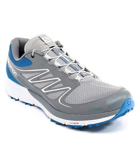 salomon sport shoes salomon sense mantra 2 blue sport shoes price in india