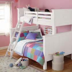 bunk beds for girls on sale spruce up your kids room d 233 cor with new white bunk beds