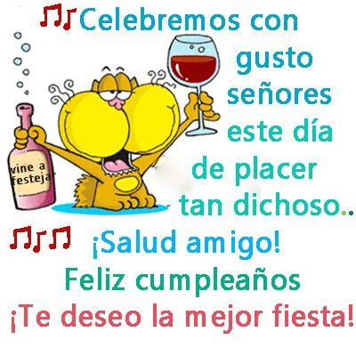imagenes feliz cumpleaños mejor amigo imagen de feliz cumplea 241 os amigo te deseo la mejor fiesta