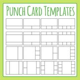 punch cards template worksheets teaching resources tpt