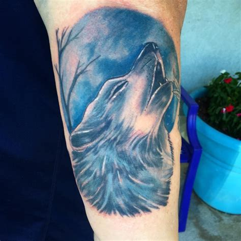 watercolor tattoo new jersey blue watercolor wolf by diane lange at moonlight