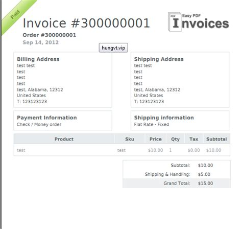 magento design invoice pdf easy pdf invoice magento extension by vnecoms magecloud net