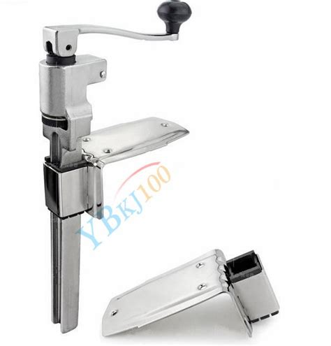 bench can opener kitchen commercial catering heavy duty bench cl mount