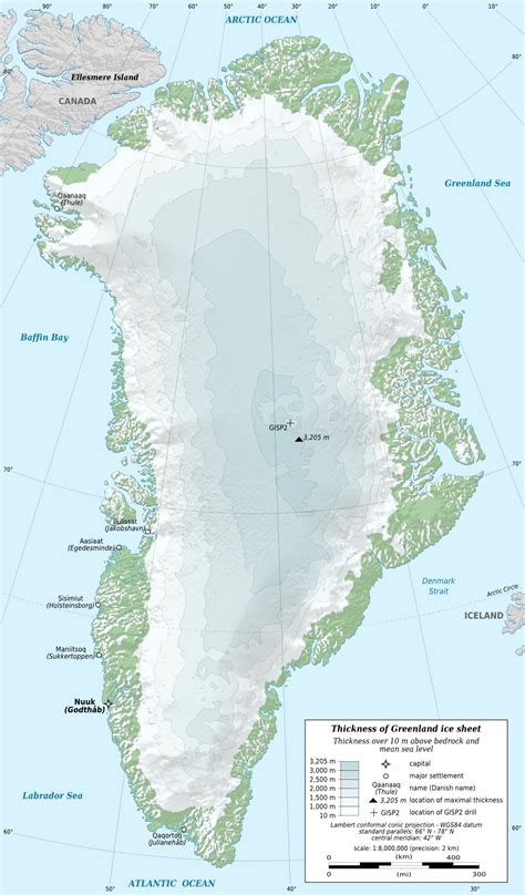 green land geography of greenland wikipedia