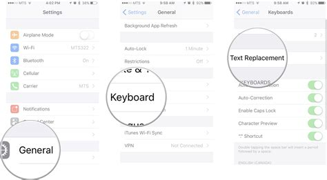 how to use text shortcuts on iphone and imore