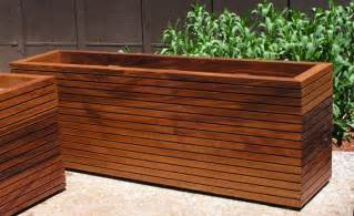 modern planter boxes in custom sizes 75 dollars a cubic