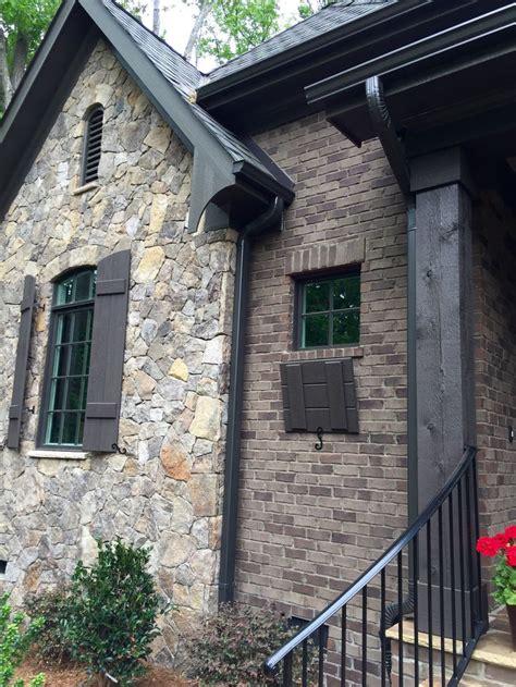 arh asheville  plan exterior  stone oakridge