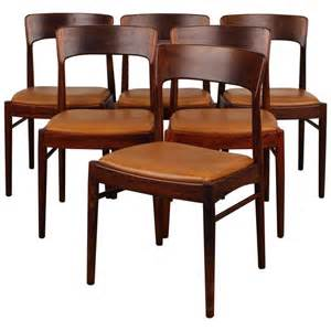 Danish Modern Dining Room Furniture by Set Of 6 Rosewood Danish Modern Dining Chairs At 1stdibs