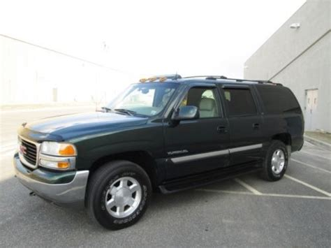 sell   gmc yukon xl slt wd leather moonroof dvd loaded sharp   bohemia  york