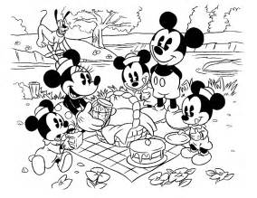 cartoon printable mickey mouse birthday coloring pages coloring tone
