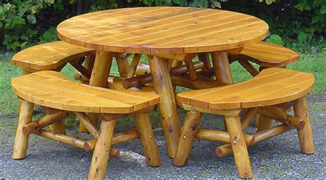 rustic log benches outdoor rustic patio furniture home outdoor