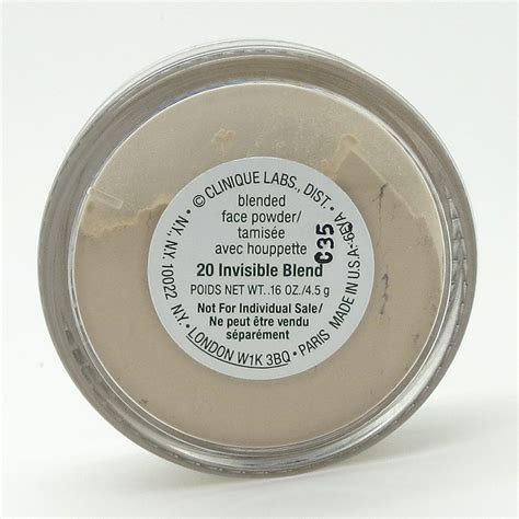 Clinique Powder clinique blended powder and brush shade