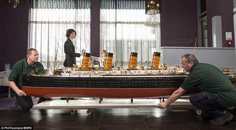 titanic model boat for sale model of ocean liner rms mauretania on sale for 163 50 000