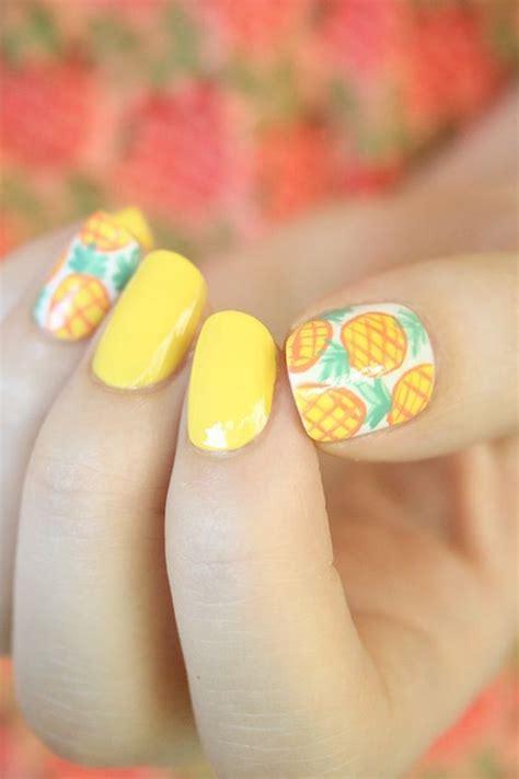 imagenes de uñas decoradas tropicales 70 fotos de u 241 as decoradas para el verano summer nail