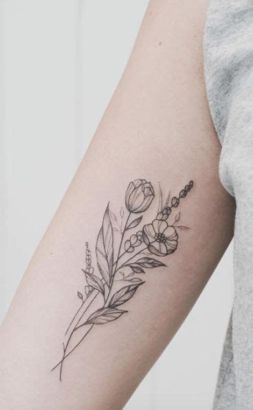 delicate flower tattoo designs 25 best ideas about wildflower on