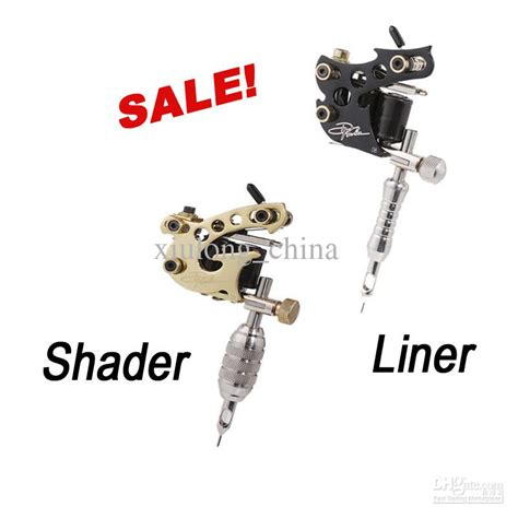 tattoo liner or shader 2 top handmade danny fowler tattoo machine gun kit shader