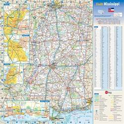 Mississippi State Parks Map by Large Detailed Roads And Highways Map Of Mississippi State
