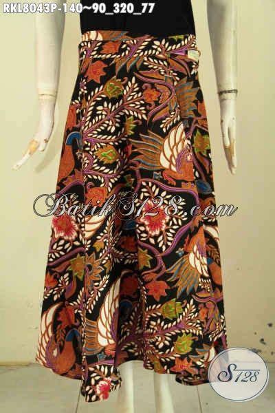 Rok Lilit Songket Keren busana batik wanita trendy rok batik keren motif kekinian model lilit bertali bahan halus