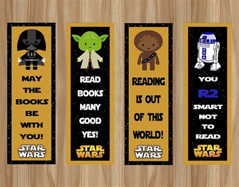 printable bookmarks star wars unavailable listing on etsy