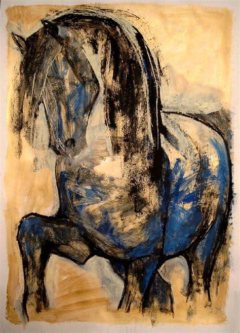 malerei modern pferde malerin drobychevskaja pferde malerei