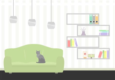 Living Room Vector Images Free Living Room Vector Free Vector Stock
