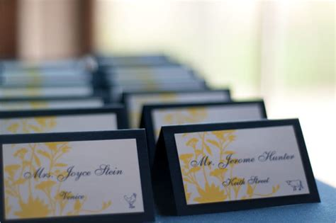 wedding place cards diy template diy project custom place cards style me pretty