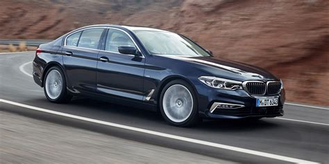 luxury bmw 2017 2017 bmw 5 series revealed lighter new 5er heavy on