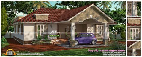 3 bedroom 2 attached one floor house kerala home design