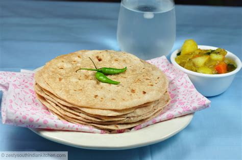 How to make Chapati/Chapathi: Indian Whole wheat flat