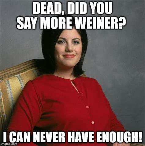 Monica Lewinsky Meme - monica lewinsky imgflip